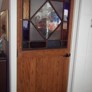 Custom Made Oak Door
